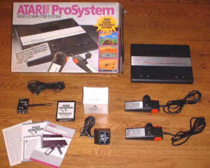 Atari 7800 ProSystem - Courtesy of Atari7800.org