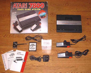 Atari 7800 Rev. 2 - Courtesy of Atari7800.org