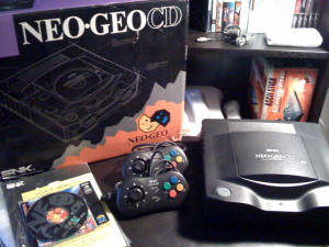Neo Geo CD - Top Loader (picture credit unknown)
